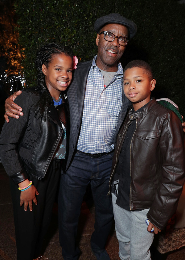 Leslie Vance, Courtney B. Vance and Conroy Vance Photo