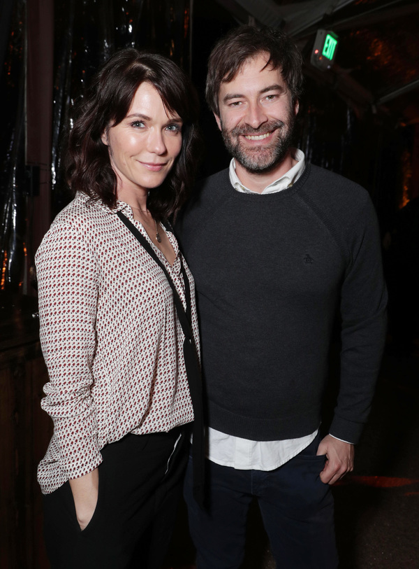 Katie Aselton and  Mark Duplas Photo