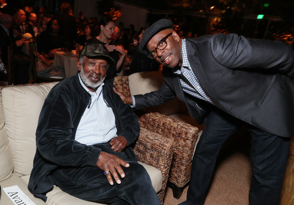Clarence Avant and Courtney B. Vance