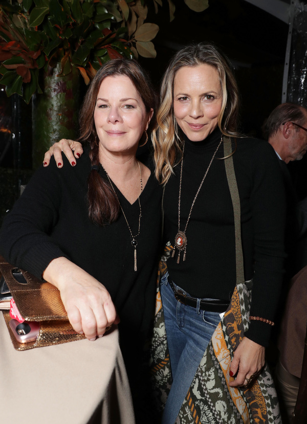 Marcia Gay Harden and Maria Bello