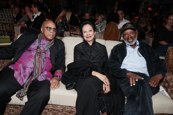Quincy Jones, Jacqueline Avant and Clarence Avant