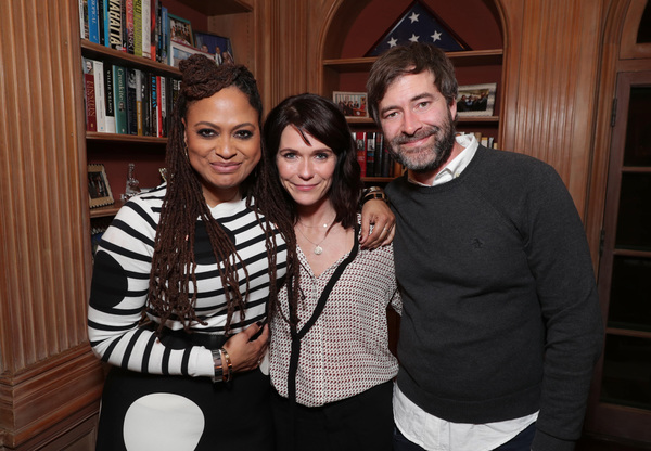Ava DuVernay, Katie Aselton and Mark Duplass