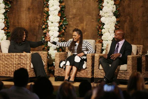 Oprah Winfrey, Ava DuVernay and Van Jones
