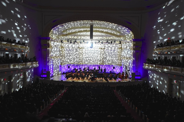 Photo Flash: First Look at Yoshiki With the Tokyo Philharmonic Orchestra at Carnegie Hall