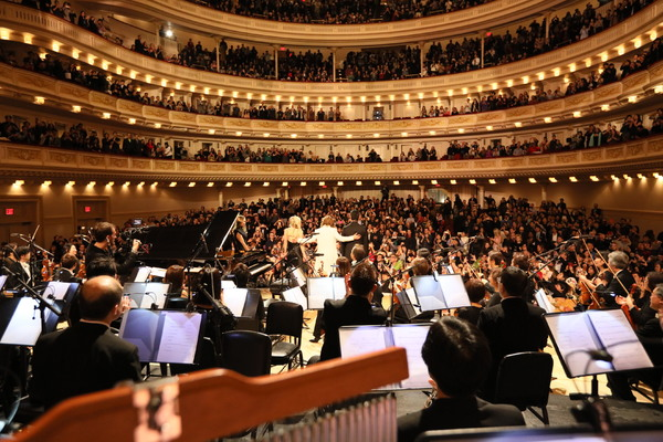 Yoshiki With Tokyo Philharmonic Orchestra at Carnegie Hall