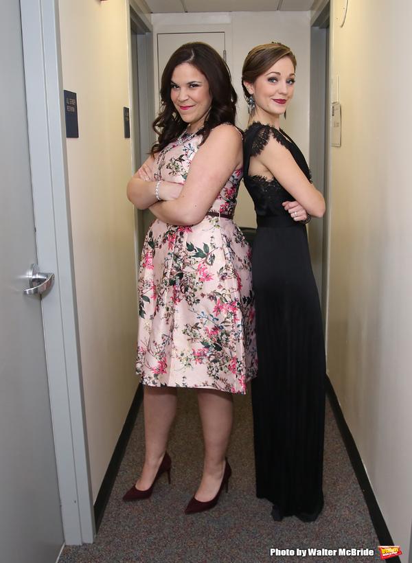Lindsay Mendez and Laura Osnes