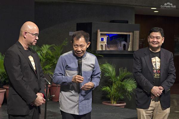 Jerry Sibal, Felipe De Leon Jr., Edwin Josue