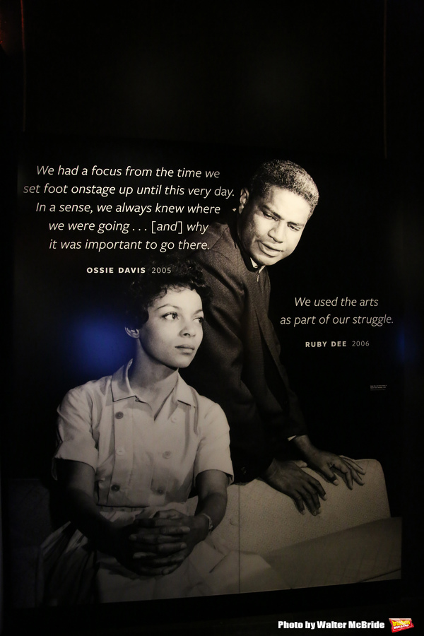Ossie Davis and Ruby Dee Exhibit Photo