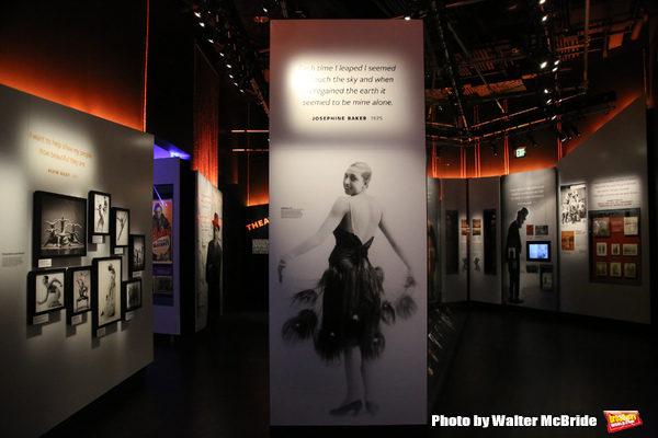Josephine Baker Exhibit Photo