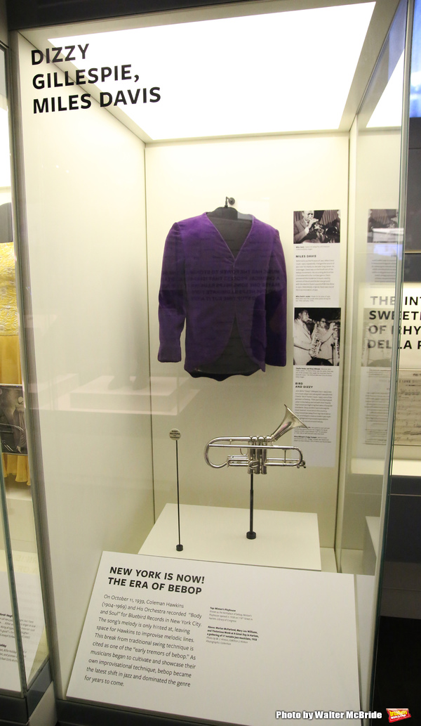 Dizzy Gillespie and Miles Davis Exhibit