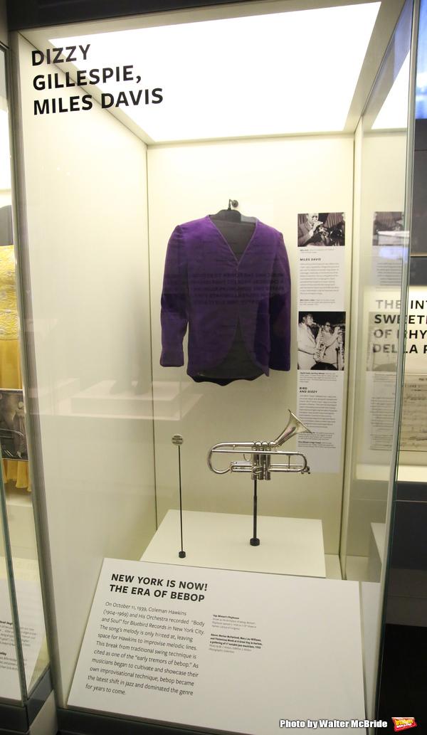 Dizzy Gillespie and Miles Davis Exhibit  Photo
