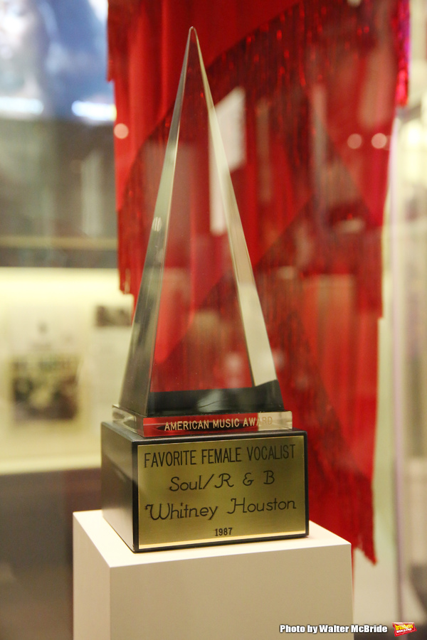 Whitney Houston American Music Award Exhibit  Photo
