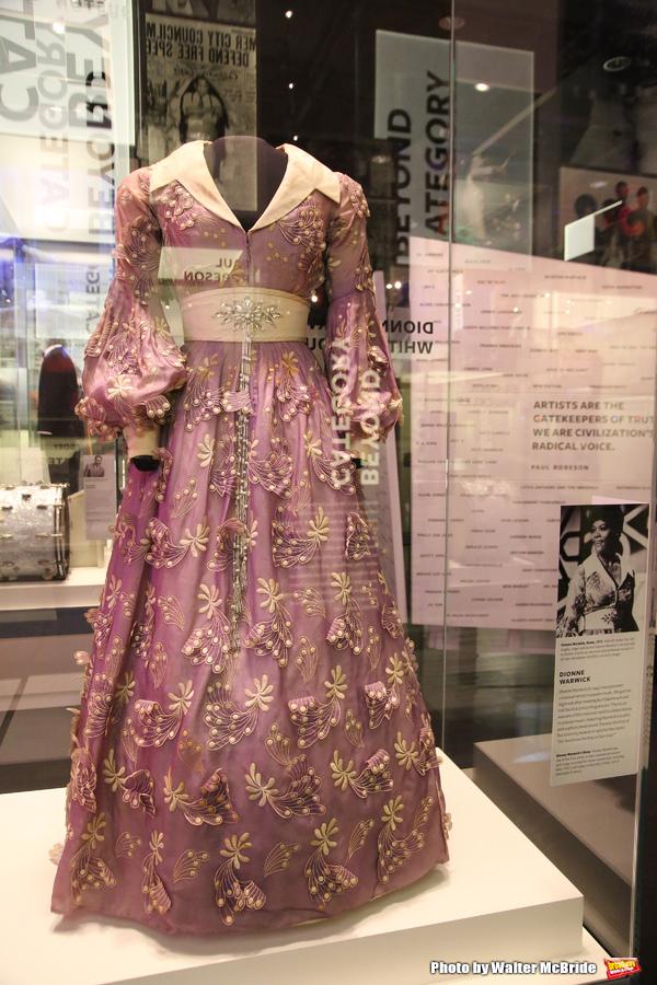 Dionne Warwick Exhibit  Photo