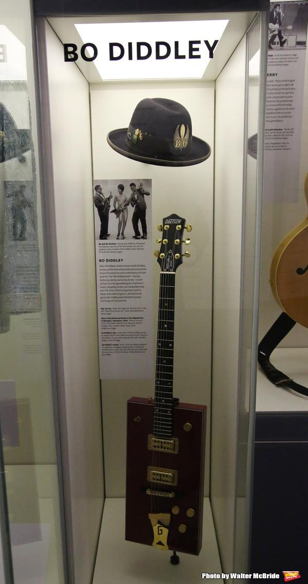 Bo Diddley Exhibit