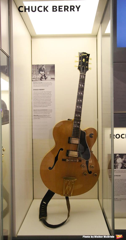 Chuck Berry Exhibit Photo