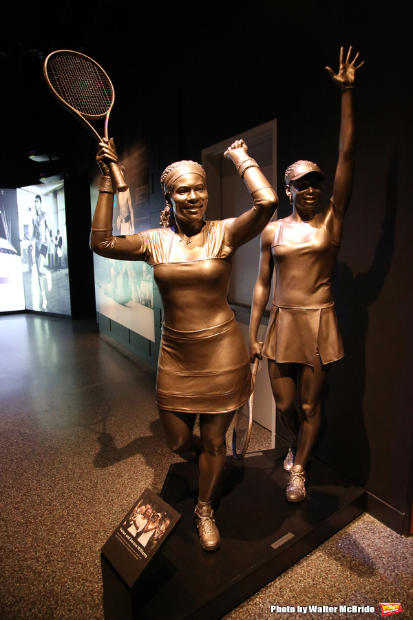 Venus Williams and Serena Williams Exhibit Photo