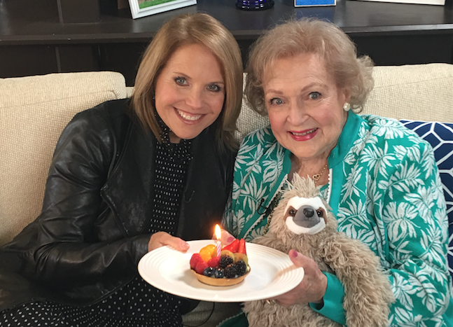 Happy 95th Birthday Betty White! Watch the Exclusive Interview with Katie Couric