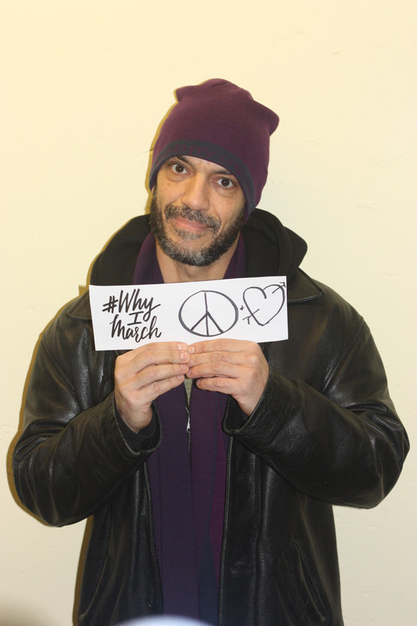 Photo Flash: #WhyIMarch - NYC Actors, Crew Members Support Women's March on Washington