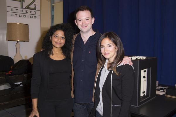 Rebecca Naomi Jones, Luke Smith and Sas Goldberg