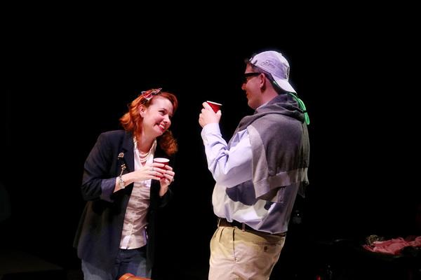 Sara Gaston and Sean Patrick Judge  Photo