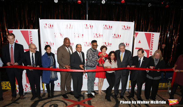 Billy Porter, executive director Virginia P. Louloudes, Daphne Rubin-Vega, Jeff Gural and others