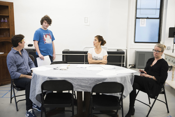 Gary Wilmes, Seth Steinberg, Kate Walsh and Tasha Lawrence