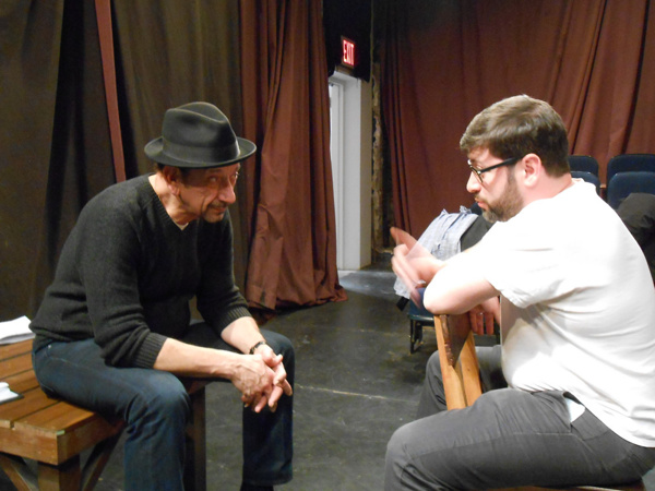 Anthony Gallo, Eugene Kopman plan the final crime in THE DEAD OLD LADY FROM NEW JERSE Photo