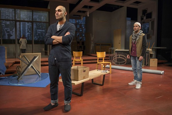 """Milwaukee Repertory Theater presents �"""" Disgraced""""  in the Quadracci Power Photo"""