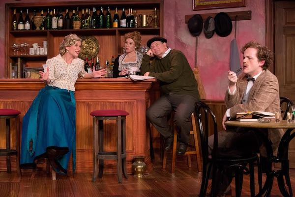 Photo Flash: Mad Cow Theatre Presents PICASSO AT THE LAPIN AGILE