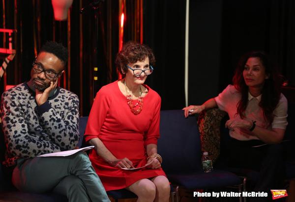 Billy Porter, Executive director Virginia P. Louloudes and Daphne Rubin-Vega