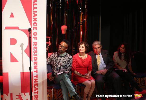 Billy Porter, executive director Virginia P. Louloudes, Jeff Gural and Daphne Rubin-Vega
