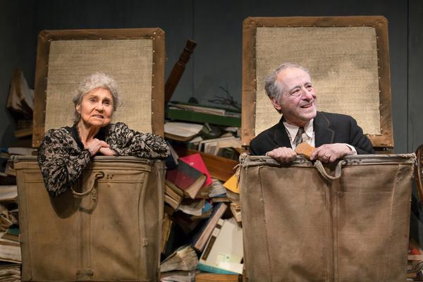 Lynn Cohen and Joe Grifasi