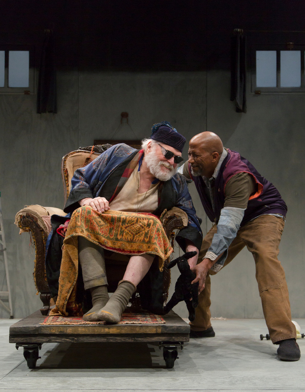 Brian Dennehy and Reg E. Cathey