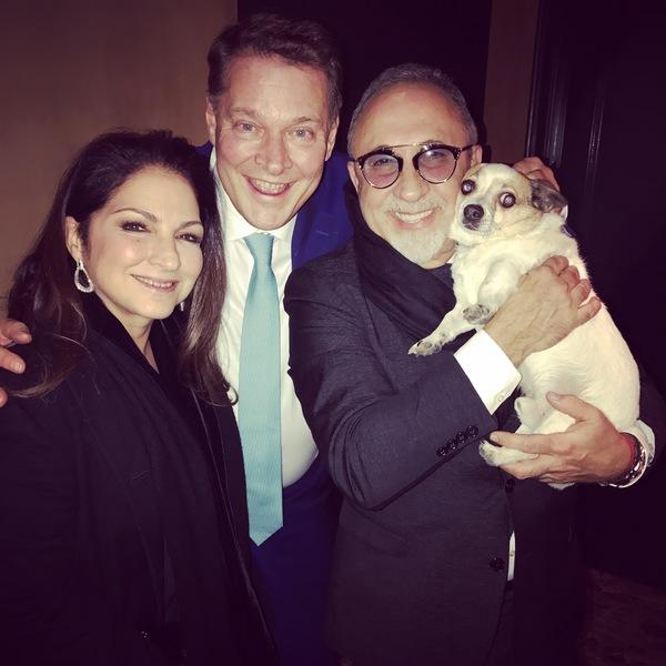 Gloria Estefan, Albert Verlinde and Emilio Estefan Photo