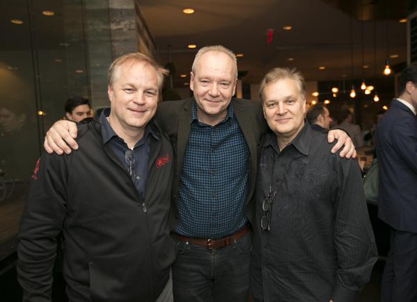 Karey Kirkpatrick, John O'Farrell, Wayne Kirkpatrick  Photo