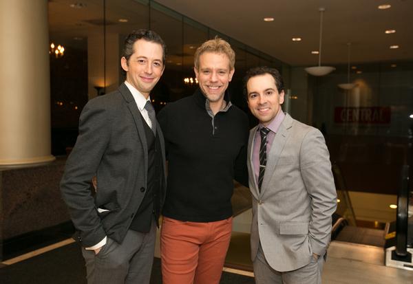 Josh Grisetti, Adam Pascal, Rob McClure
