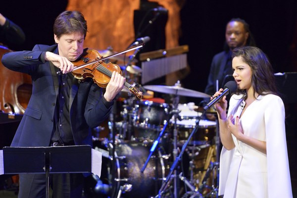 Joshua Bell, Larisa Martinez Photo