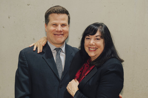 Director Bill Rauch and playwright Lisa Loomer  Photo
