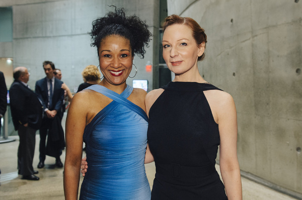 Cast members Gina Daniels and Susan Lynskey Photo