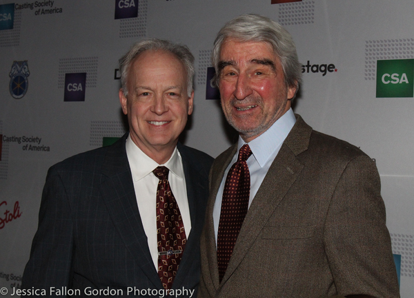 Reed Birney and Sam Waterston