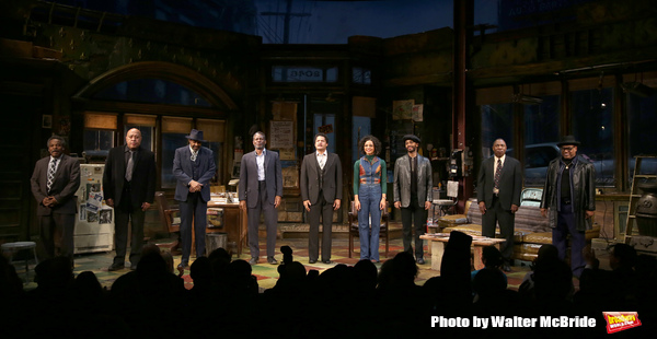 Photo Coverage: August Wilson's JITNEY Takes Broadway Bows At Last!