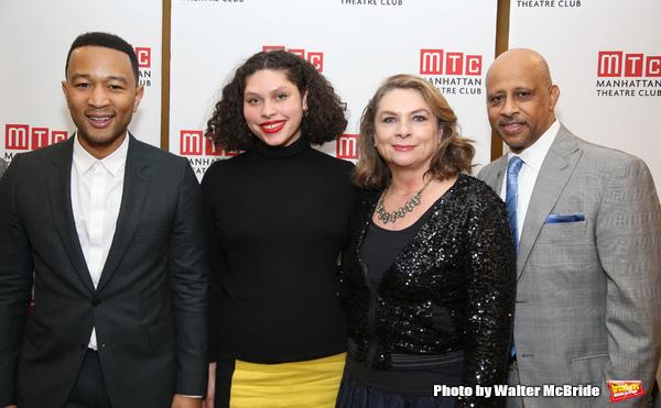 John Legend, Azula Carmen Wilson, Constanza Romero and Ruben Santiago-Hudson