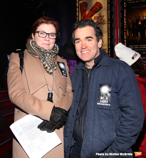 Kate Mulgrew and Brian d'Arcy James