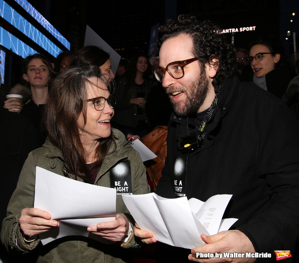 Sally Field and Sam Gold  Photo