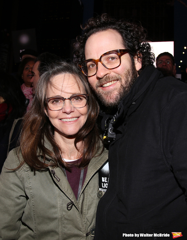 Sally Field and Sam Gold