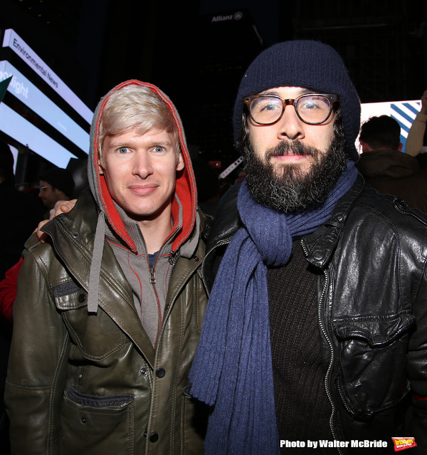 Lucas Steele and Josh Groban