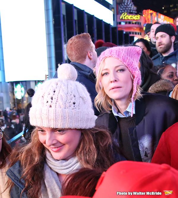 Melissa Errico and Cate Blanchett