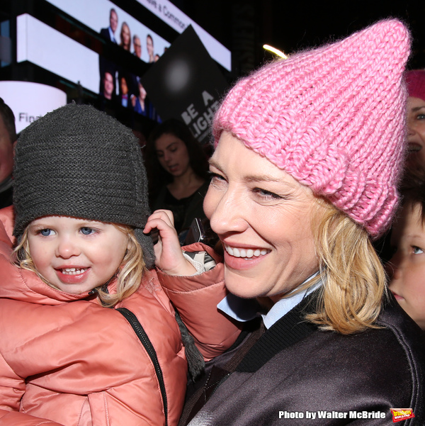 Cate Blanchett and family