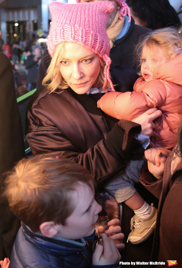 Cate Blanchett and family Photo