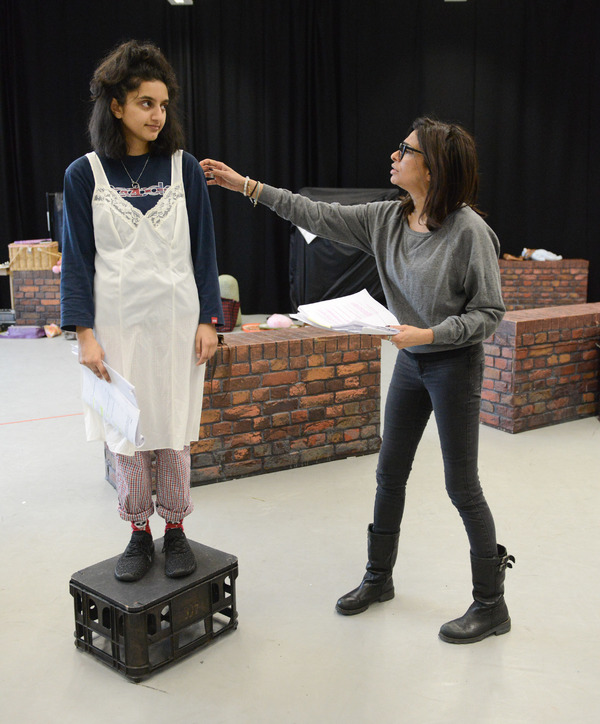Aasiya Shah and Shobna Gulati Photo